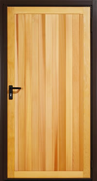Garador Kingsbury Timber Panel Garage Side Door