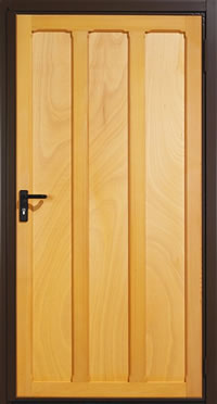 Garador Seymour Timber Panel Garage Side Door