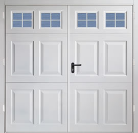 Garador Beaumont (with windows) Steel Panel Side-Hinged Garage Door