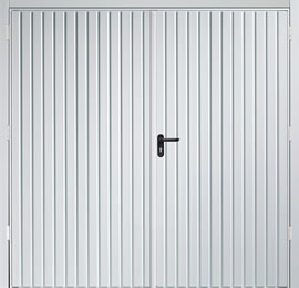 Garador Carlton Steel Panel Side-Hinged Garage Door